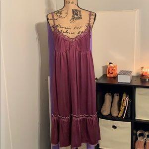 Free People Vintage Silk Dress